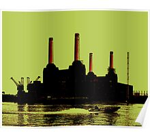 Battersea Power Station, London Poster