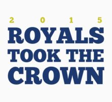 Royals Took the Crown! Kids Clothes