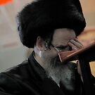 Praying in the Ohel of Rabbi Elimelech. Jorcait .  by © Andrzej Goszcz,M.D. Ph.D