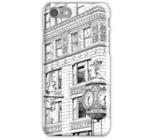 Father Time Clock in the Windy City. iPhone Case/Skin
