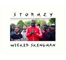Stormzy // Wicked Skengman Art Print