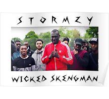Stormzy // Wicked Skengman Poster