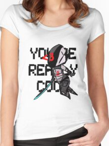 You're Really Cool, Zer0 Women's Fitted Scoop T-Shirt