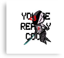 You're Really Cool, Zer0 Canvas Print