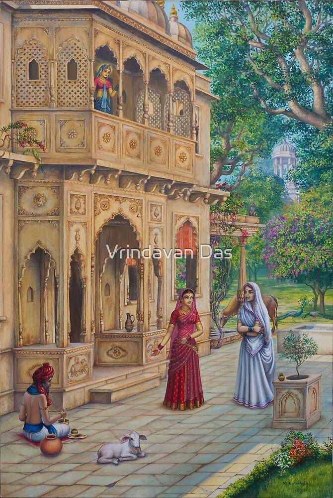 Purnamasi at Kirtidas house by Vrindavan Das