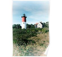 Nauset Light, Cape Cod National Seashore Poster