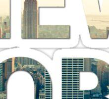 New York City (Sandstone) Sticker