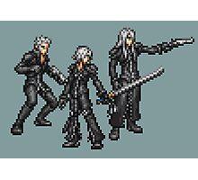 Kadaj, Loz, & Yazoo (Remnants) boss sprites - FFRK - Final Fantasy VII (FF7) Advent Children Photographic Print