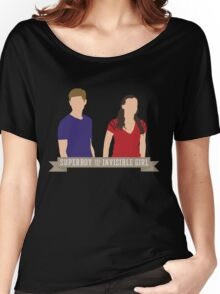 Superboy and the Invisible Girl Women's Relaxed Fit T-Shirt