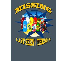 Last Seen: The 90's Photographic Print
