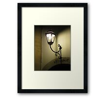UYTGANGH - Way Out Framed Print