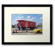 The Presidential Caboose Framed Print