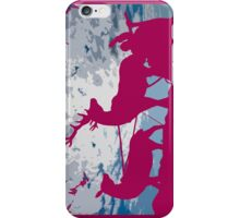 Pink Christmas iPhone case iPhone Case/Skin