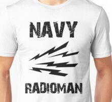 US Navy Radioman Insignia Unisex T-Shirt