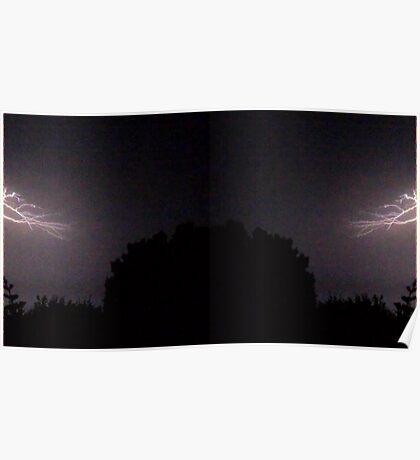 Lightning Art 25 Poster