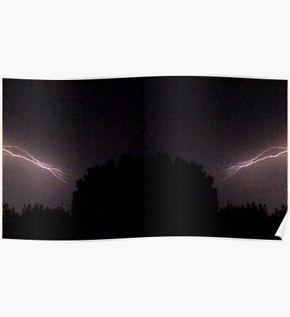 Lightning Art 26 Poster