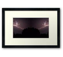 Lightning Art 27 Framed Print