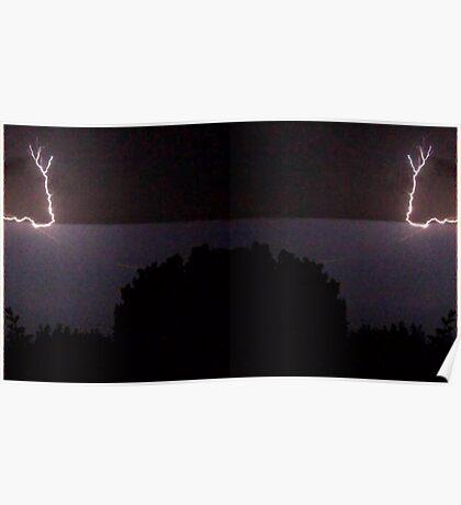 Lightning Art 28 Poster