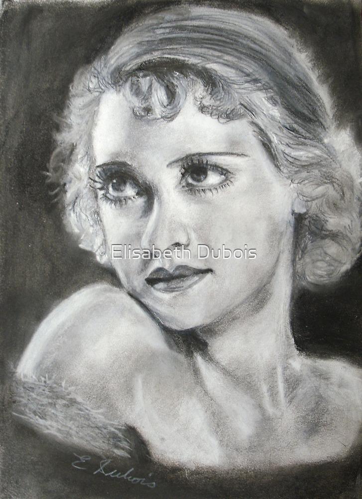 Betty Davis...young by Elisabeth Dubois