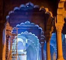 Restoring The Red Fort by phil decocco