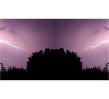 Lightning Art 29 Photographic Print