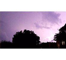 Lightning Art 30 Photographic Print