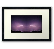 Lightning Art 32 Framed Print