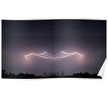Lightning Art 33 Poster