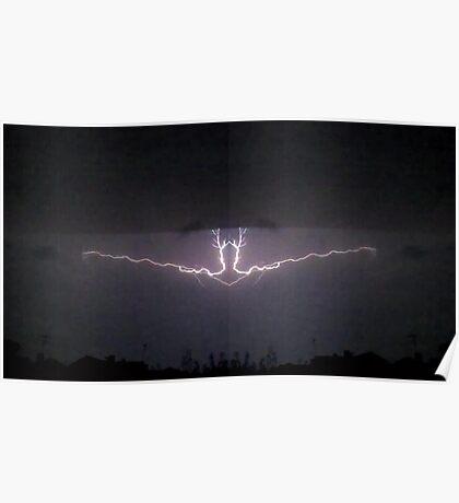 Lightning Art 37 Poster