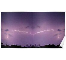 Lightning Art 39 Poster