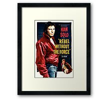 Rebel Without The Force Framed Print