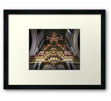 Moreau-orgel St. Janskerk Gouda  Framed Print