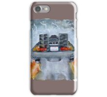 Back To The Future - OUTATIME iPhone Case/Skin