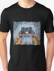 Back To The Future - OUTATIME Unisex T-Shirt