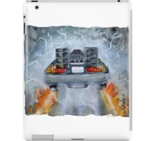 Back To The Future - OUTATIME iPad Case/Skin