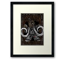 Absoluto - Mammoth Jiu Jitsu Framed Print