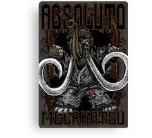 Absoluto - Mammoth Jiu Jitsu Canvas Print