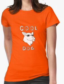 Cool Dog Womens Fitted T-Shirt