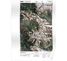 USGS Topo Map Washington State WA Cascade Pass 20110510 TM Poster