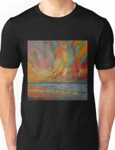 Hidden Heart Lava Sky Unisex T-Shirt