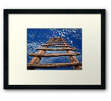 Kiva Ladder Framed Print