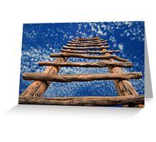 Kiva Ladder Greeting Card
