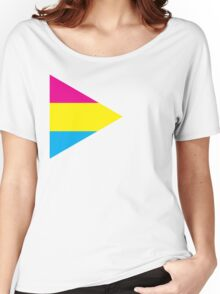 Pansexual Tri-flag Women's Relaxed Fit T-Shirt