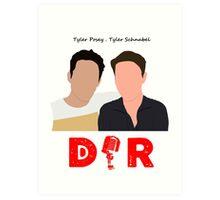 Doin' It Raw Podcast Art Print
