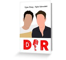 Doin' It Raw Podcast Greeting Card