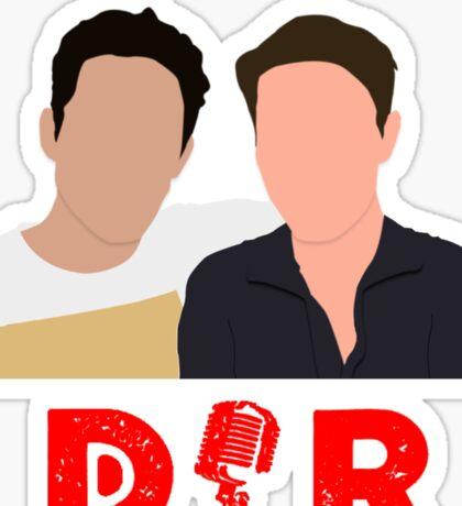 Doin' It Raw Podcast Sticker