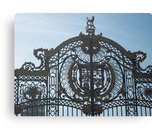 Royal Gates At Green Park Near Buckingham Palace Canvas Print