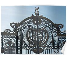 Royal Gates At Green Park Near Buckingham Palace Poster