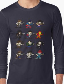 Megamen Long Sleeve T-Shirt