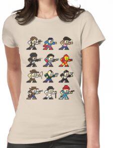 Megamen Womens Fitted T-Shirt